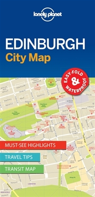 Lonely planet: city map edinburgh (1st ed)