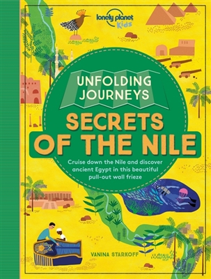 Lonely planet: unfolding journeys - nile (1st ed)