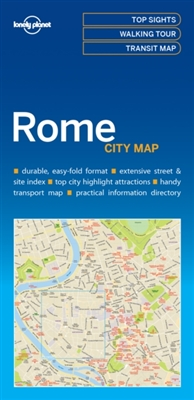 Lonely planet: city map rome (1st ed)