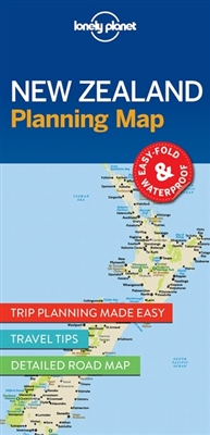 Lonely planet: planning map new zealand (1st ed)