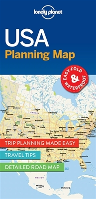 Lonely planet: planning map usa (1st ed)