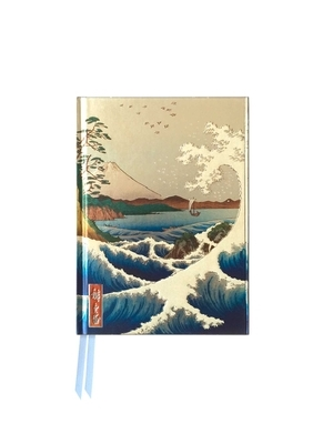 Sea at satta by hiroshige pocket journal