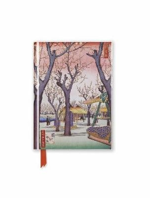 Hiroshige: plum garden (foiled pocket journal)