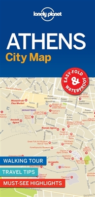 Lonely planet: city map Lonely planet: athens city map (1st ed)