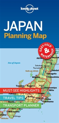 Lonely planet: japan planning map (1st ed)