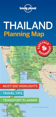 Lonely planet: thailand planning map (1st ed)