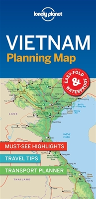 Lonely planet: vietnam planning map (1st ed)