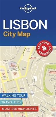 Lonely planet: city map Lisbon city map (1st ed)