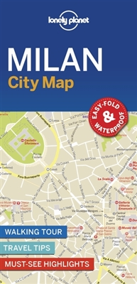 Lonely planet: city map Milan city map (1st ed)