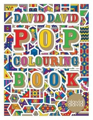 David david pop colouring book