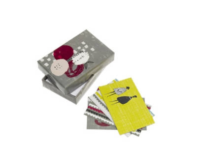 Lisa stickley witty notecard box