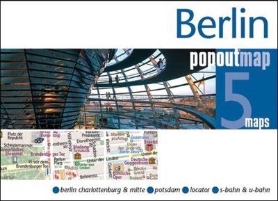 Pop out map berlin