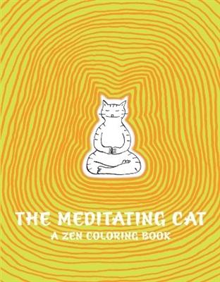 Meditating cat: a zen colouring book