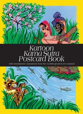 Kartoon kama sutra postcard book (30 postcards)
