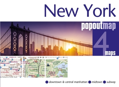Pop out map new york