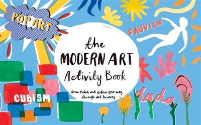 Modern art activity book