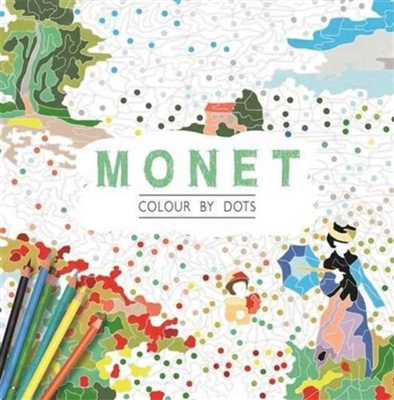 Monet : colour by dots