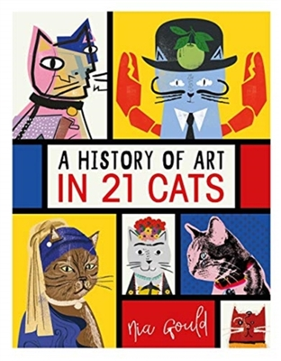 History of art in 21 cats