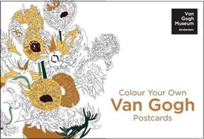 Colour your own van gogh 20 postcards