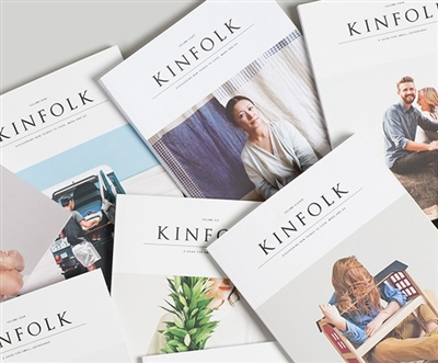Kinfolk notecards - the weekend edition