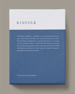 Kinfolk balance edition notes