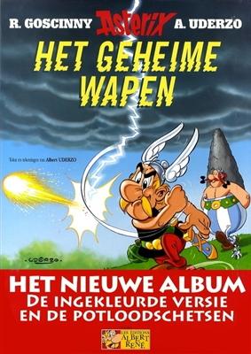 Asterix luxe editie Lu33. het geheime wapen (luxe editie) -