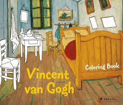 Prestel colouring books Vincent van gogh coloring book