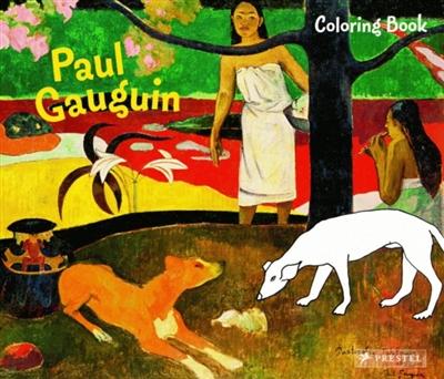 Gauguin coloring book