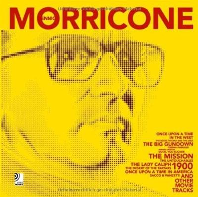 Ennio morricone - book + 4 music cd's