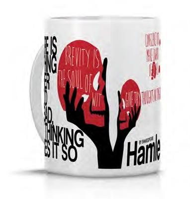 Anna karenina: porcelain mug