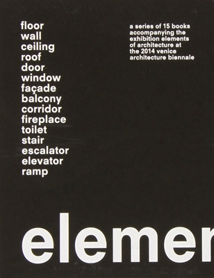 Elements of architecture - 15 vols in slipcase