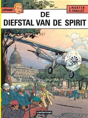 Lefranc 13. de diefstal van de spirit