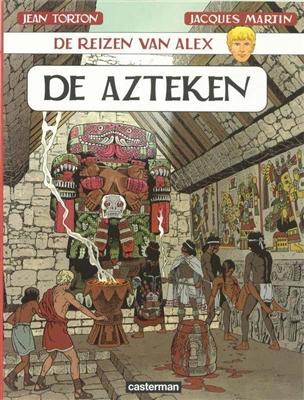 Alex, de reizen van 16. de azteken -