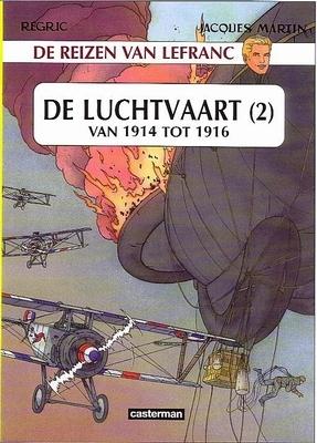 Lefranc, de reizen van 02. luchtvaart 1914-1916 -