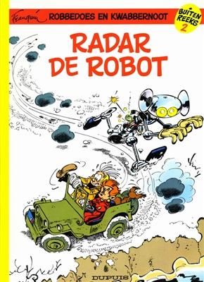 Robbedoes buitenreeks 02. radar de robot