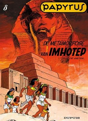 Papyrus 08. de metamorfose van imhotep -