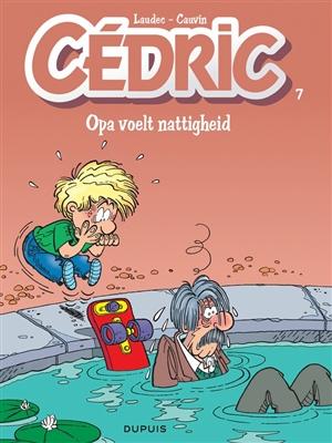Cedric 07. opa voelt nattigheid