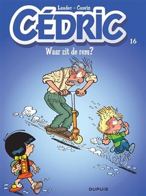 Cedric 16. waar zit de rem ?