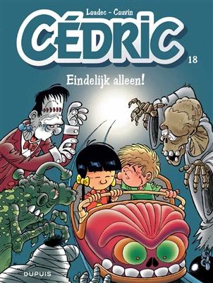 Cedric 18. eindelijk alleen !