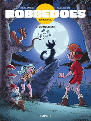 Robbedoes special 03. de wolfman