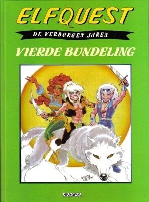 Elfquestboek verborgen jaren bundel 04. vierde bundeling -