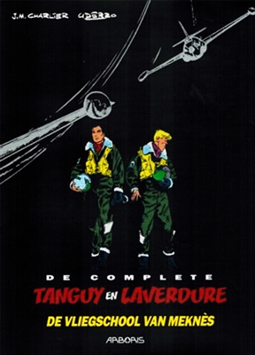 Tanguy en laverdure complete Lu01. de vliegschool van meknes (luxe editie)