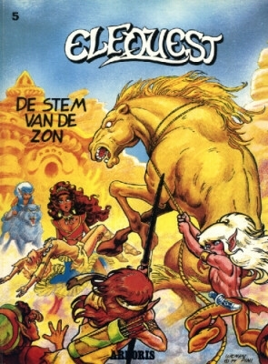Elfquest 05. de stem van de zon -