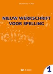 Nieuw werkschrift voor spelling 1