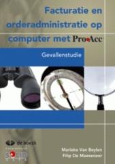 Proacc - facturatie en orderadministratie op computer met proacc (+ cd-rom)