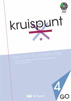 Kruispunt 4 - basis (4u - 5u) meetkunde (go) - leerwerkboek