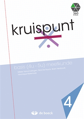 Kruispunt 4 - basis (4u - 5u) meetkunde (vo) - leerwerkboek