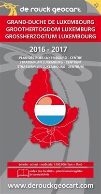 Landkaart 043. luxemburg 2016-2017 -