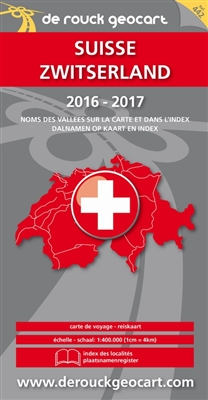 Landkaart 442. zwitserland 2016-2017 -