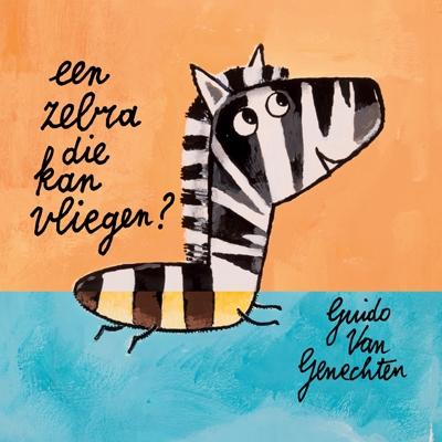 Kijk- en doeboek Zebra die kan vliegen